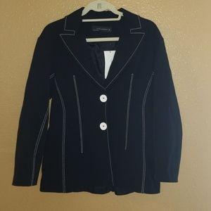 Zara Black Jacket Small